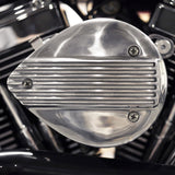Mini Flat Shell Air Cleaner Cover - Fin