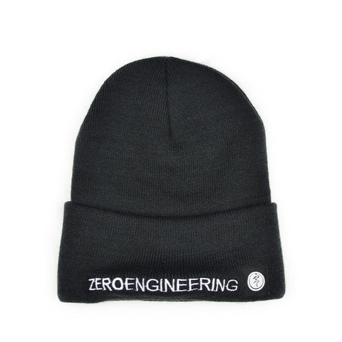 ZERO Engineering Black Beanie