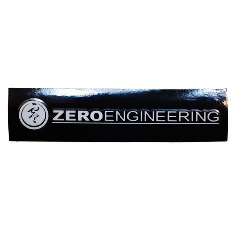 ZERO Engineering Transfer Vinyl Decal - Clear White