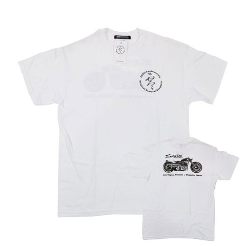 Samurai Chopper Shirt - White