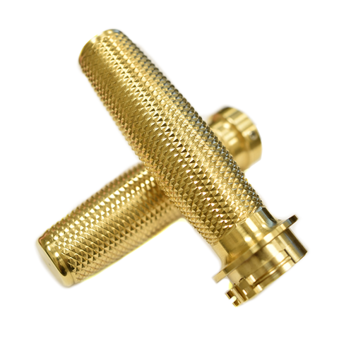 Brass Throttle and Grip