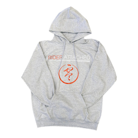 Rider Attached Hoodie - Heather