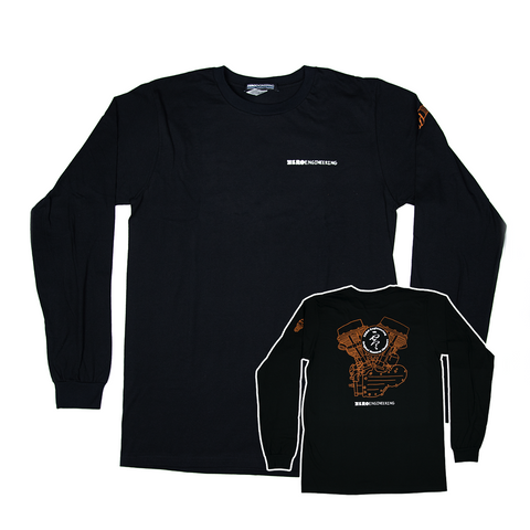 Engine Shirt - Black Long Sleeve