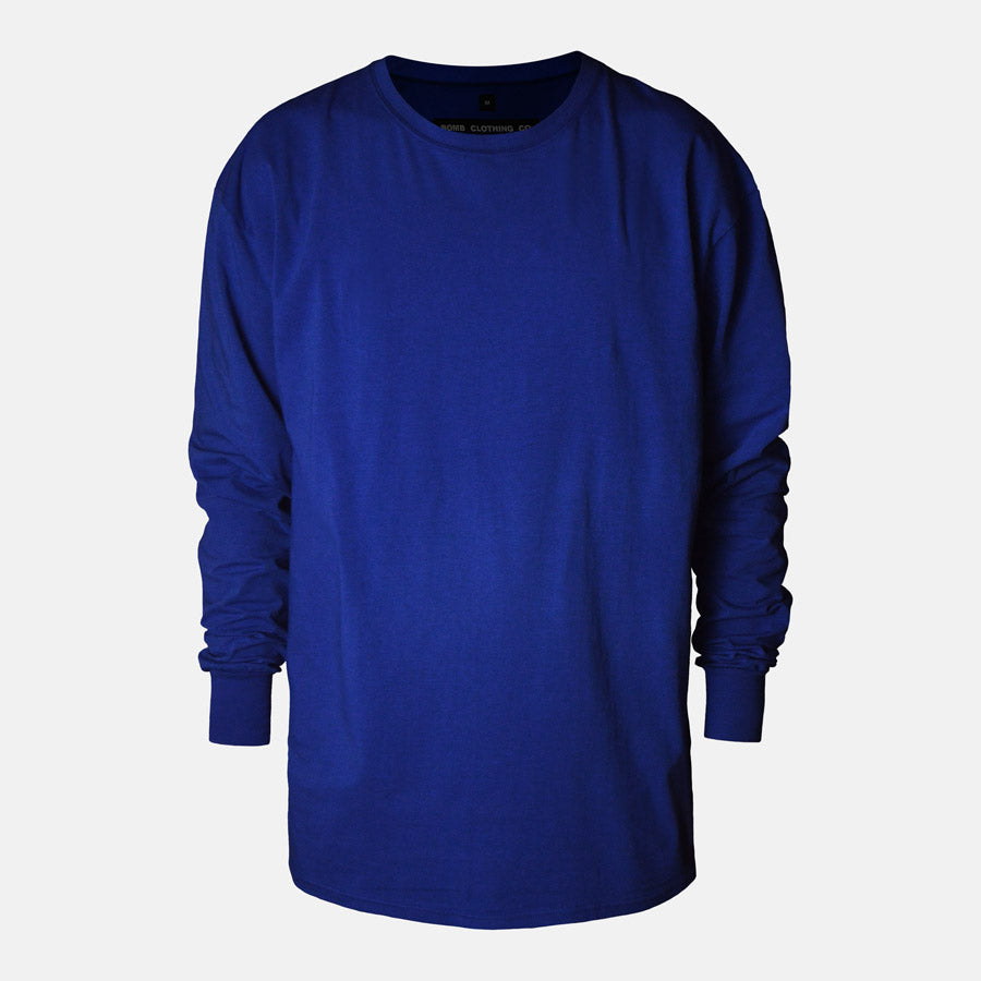Essential Long Sleeve (Blue)