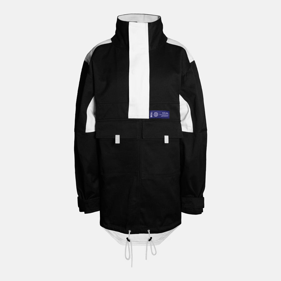 Bomb Clothing co. Pullover Anorak Front