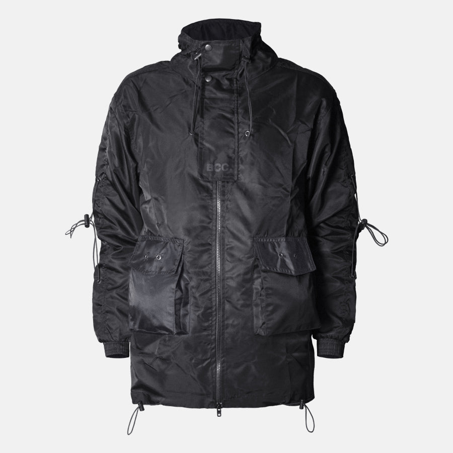 Black Technical Lounge Jacket