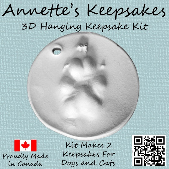 Pet hanging keepsakes kit