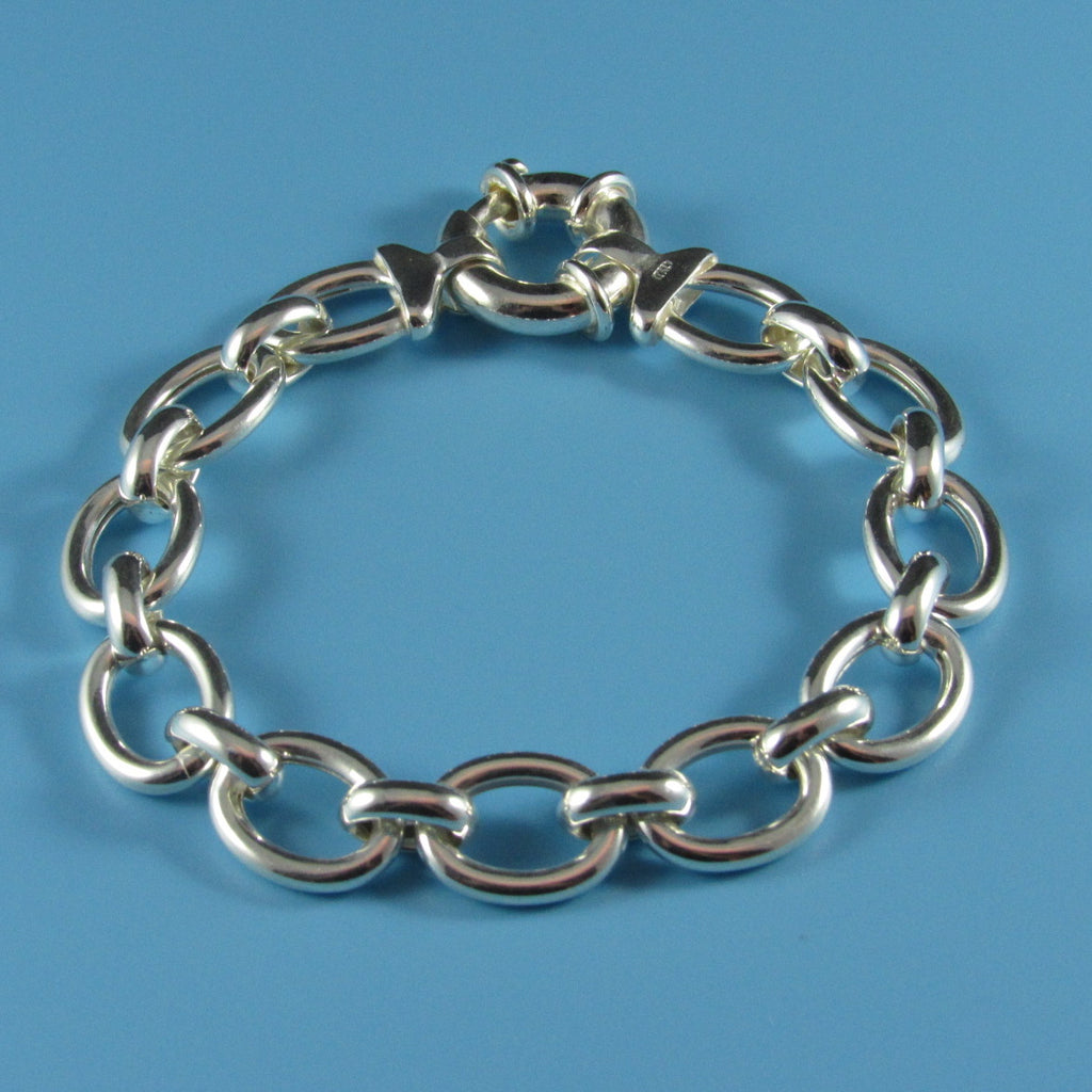 2770 - Ovals with Round Connector Bracelet