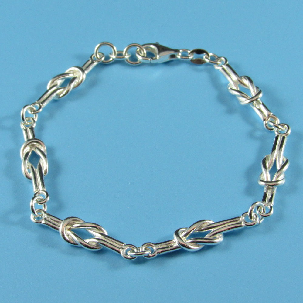 4330 - Sterling Love Knot Bracelet