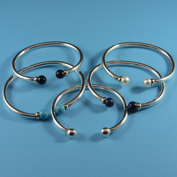 4341 - Sterling Flex Bangle