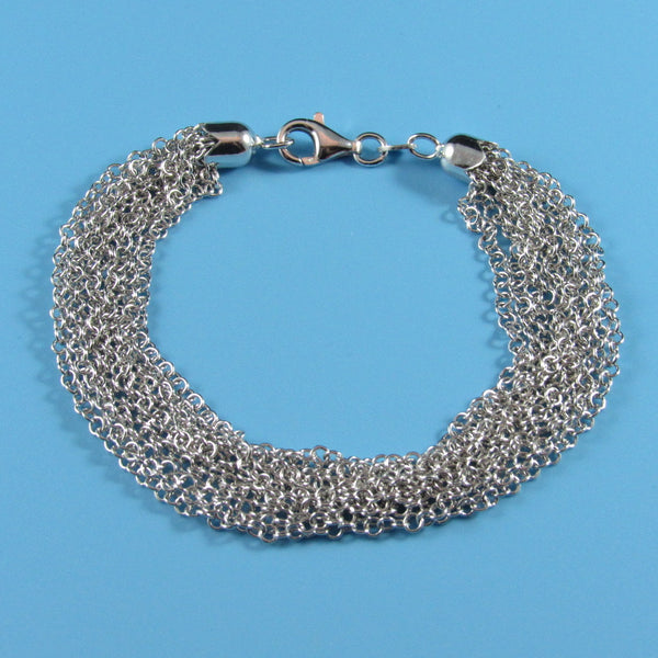 4464 - Multi Strand Mini Circles Bracelet