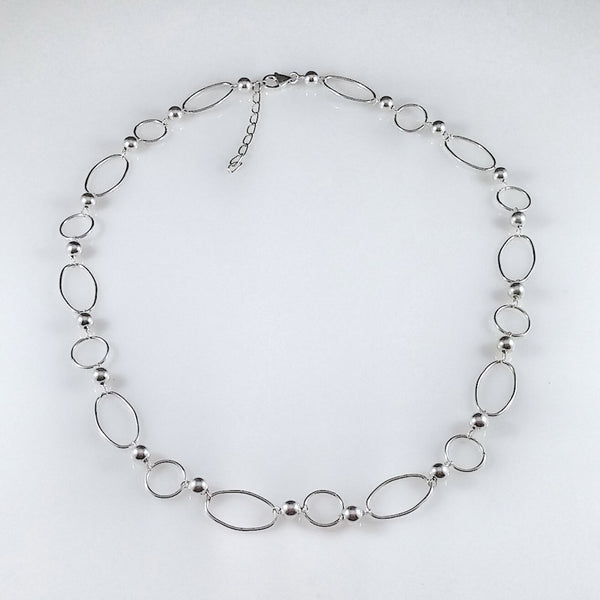 4471 - Alternating Bead/Circle/Oval Wire - 22