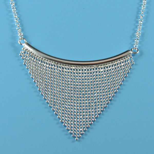 4503 - Beaded Chandelier Necklace - 18