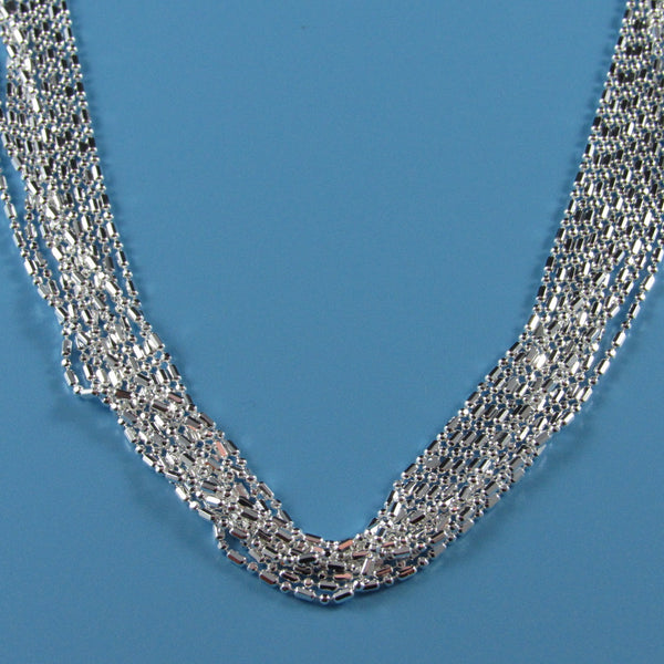 4504 - Multi-Strand Bar and Bead Necklace - 16