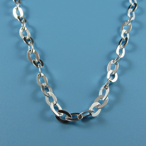 4522 - 5.1mm Flat Oval Cable Necklace - 36