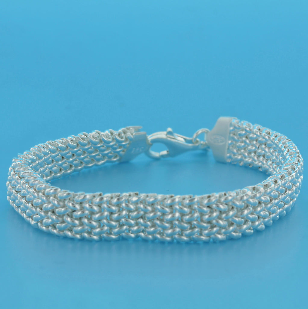 4568-Narrow Basketweave Bracelet