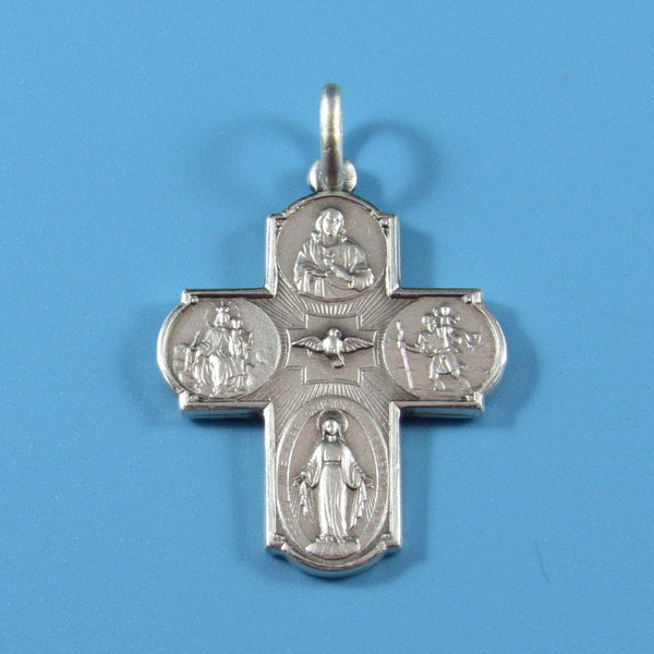 C19 - Sterling Silver Scapolare Cross