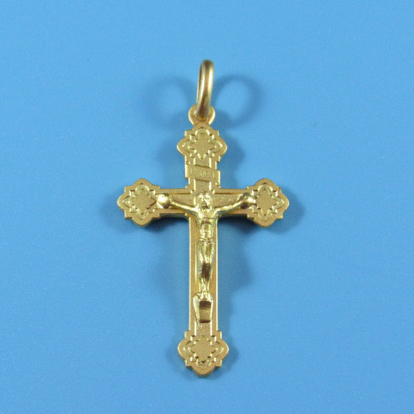 C20KT - 14kt Yellow Gold Crucifix