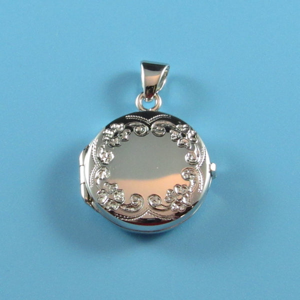 LKT05 - Engraveable Medium Round Locket