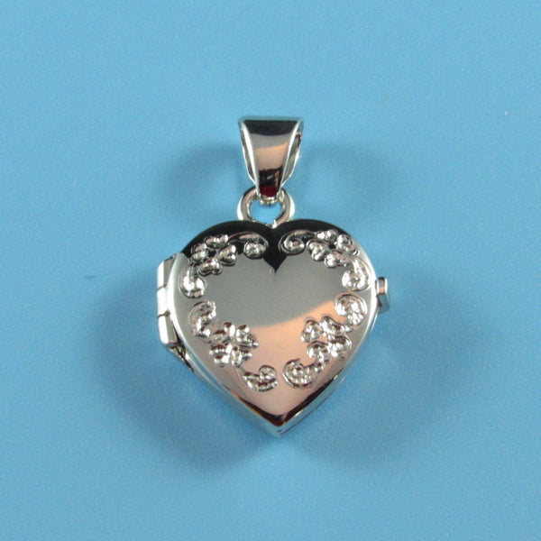LKT06 - Engraveable Small Heart Locket