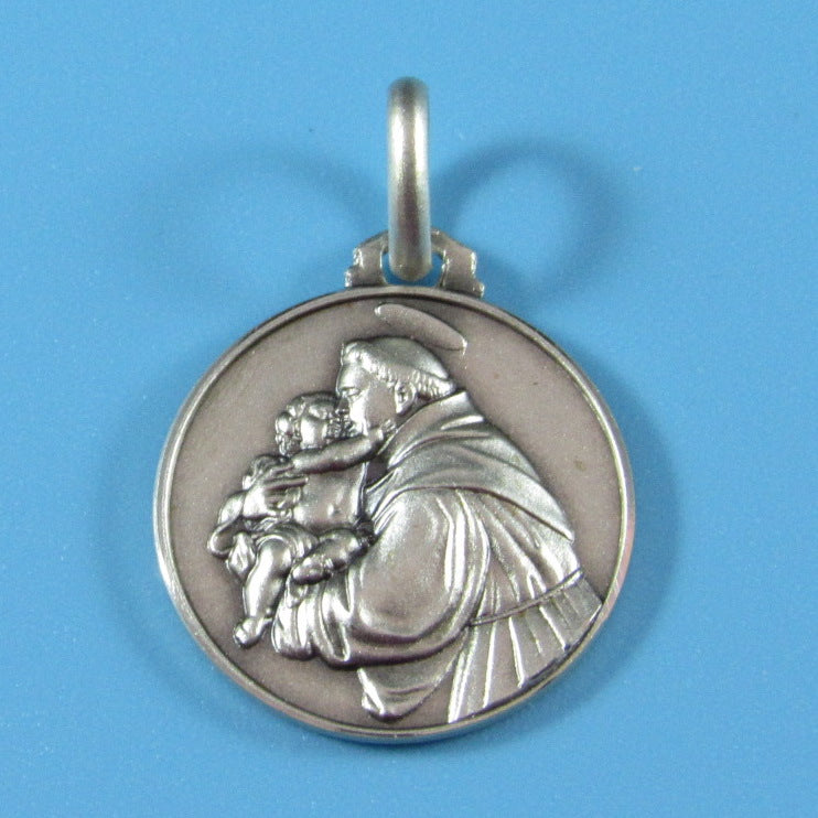 RM07 - Sterling Silver St Anthony of Padua Medal
