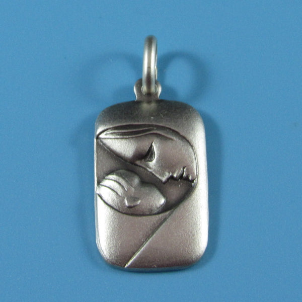 RM11 - Sterling Silver Mother and Child Medal
