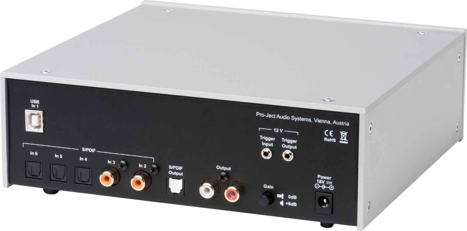 Pro-Ject DAC Box DS2 Ultra D to A Converter - Black