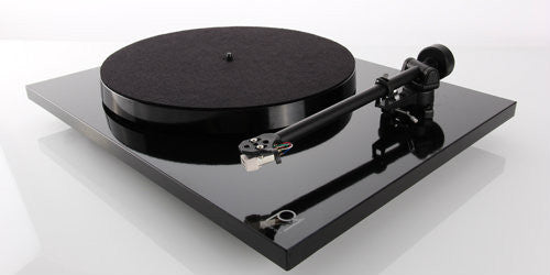Rega Planar 1 Turntable with Cartridge - BLACK
