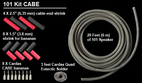Cardas 101 Speaker Cable DIY - KIT