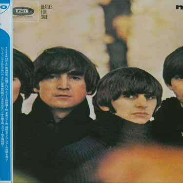Beatles - For Sale - Mono LP Vinyl - Japanese IMPORT