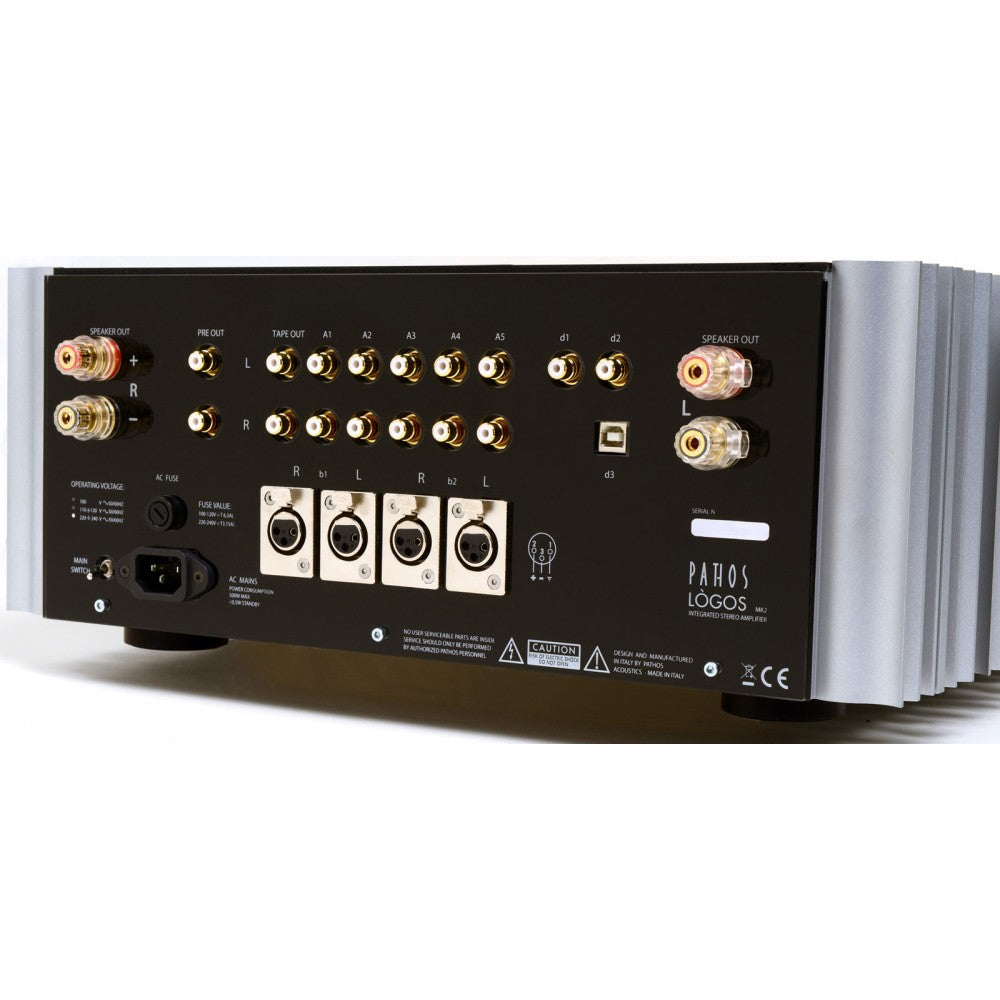 Pathos Logos Integrated Amplifier Dedicated Audio