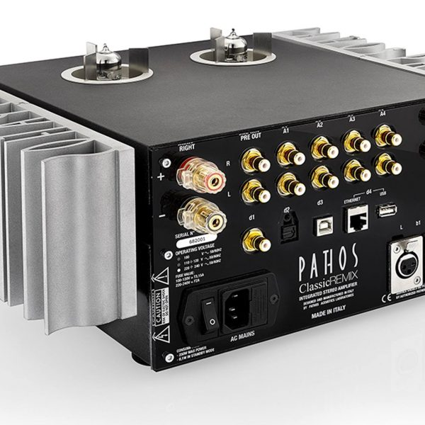 Pathos Classic Remix Tube Hybrid Integrated Amplifier
