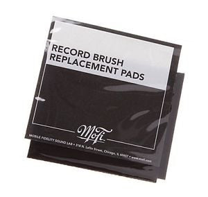 Mobile Fidelity Mofi Record Cleaning Brush Replacement Pads - PAIR