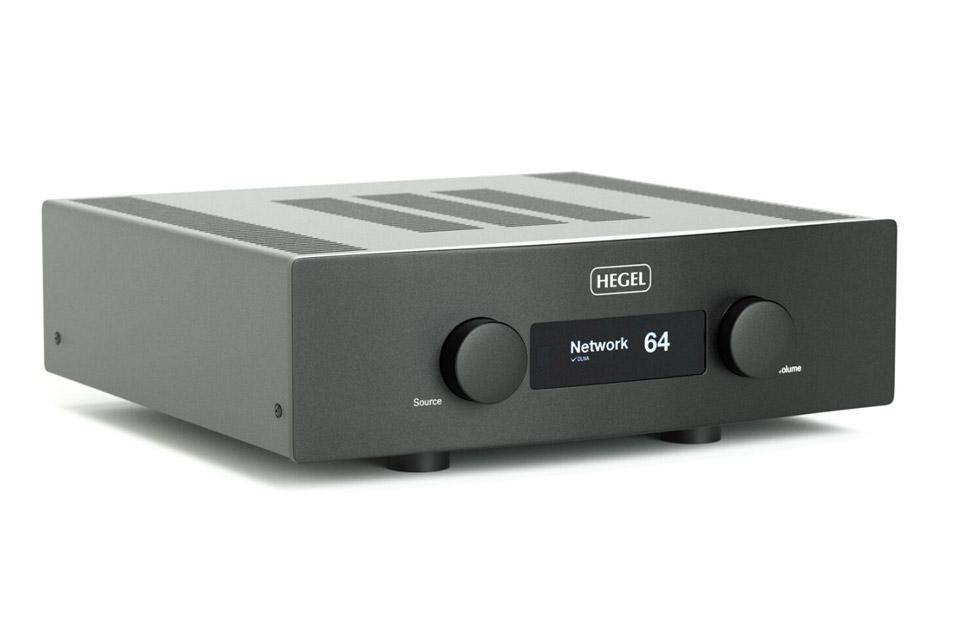 Hegel H390 Integrated Amplifier with DAC and Streaming - BLACK