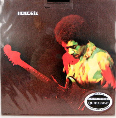 Jimi Hendrix - Band of Gypsys - 200g Classic Records LP Vinyl - RARE