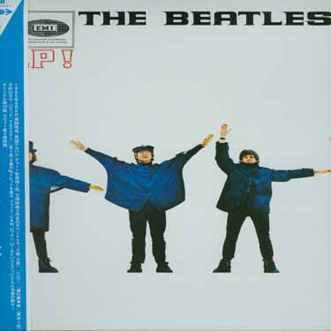 Beatles Help - Mono LP Vinyl - Japanese OBI IMPORT