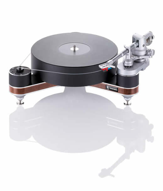 "Clearaudio Innovation Compact Wood Turntable with 9"" Universal Tonearm"