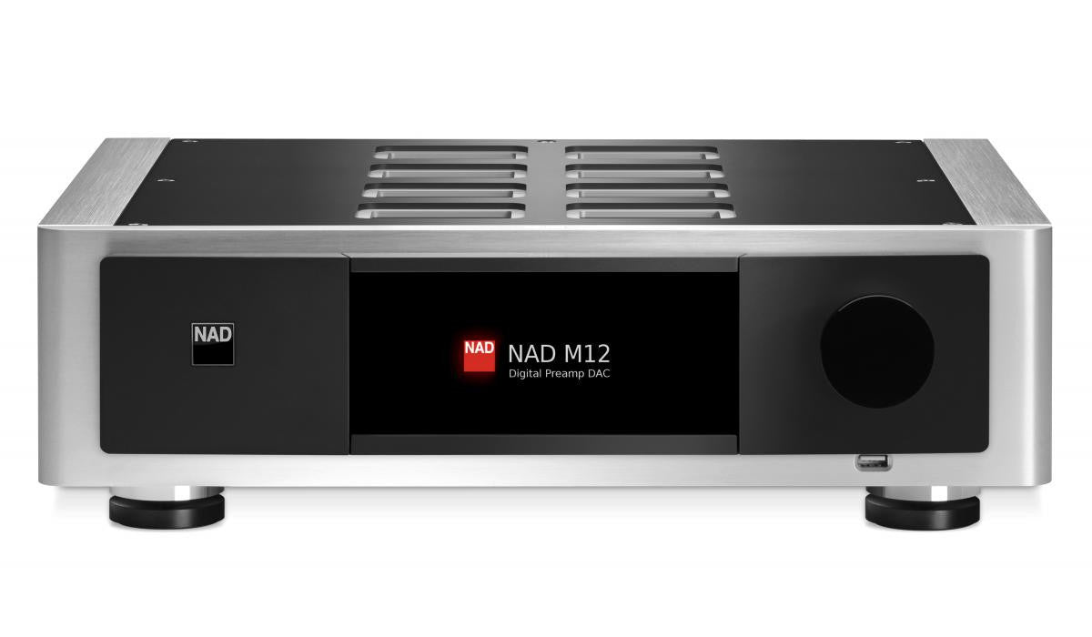 Nad Master Series M12 Digital Preamplifier Dac Dedicated Audio Modular Phono