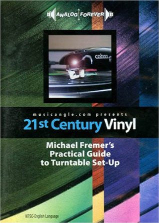 Michael Fremer - 21st Century Vinyl: Michael Fremer's Practical Guide to Turntable Set-Up DVD
