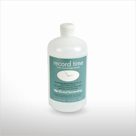 Musical Surroundings Record Time Enzyme Cleaning Solution
