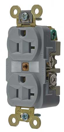 Hubbell HBL5362 20A Receptacle - Cryogenically Treated