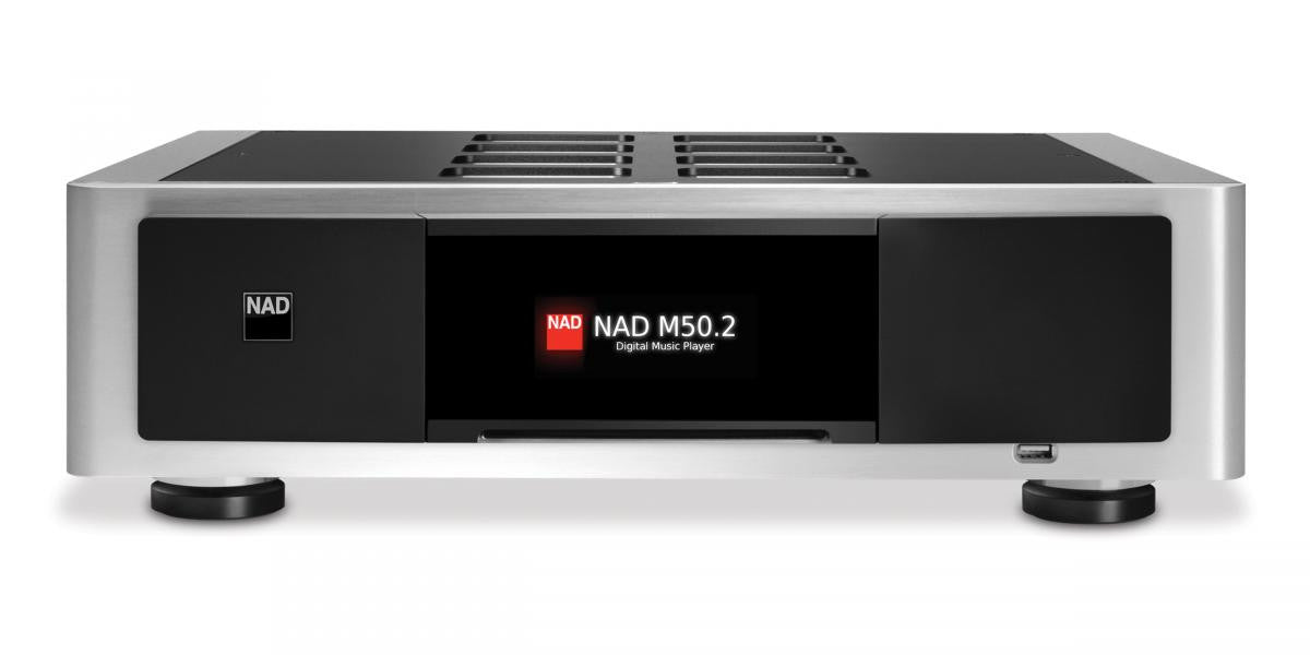 NAD M50.2 Digital Music Player with CD Transport