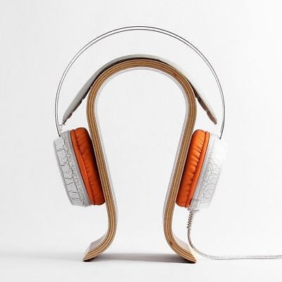 Omega Wooden Headphone Stand - Walnut
