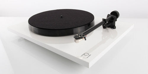 Rega Planar P1 Turntable with Cartridge - WHITE