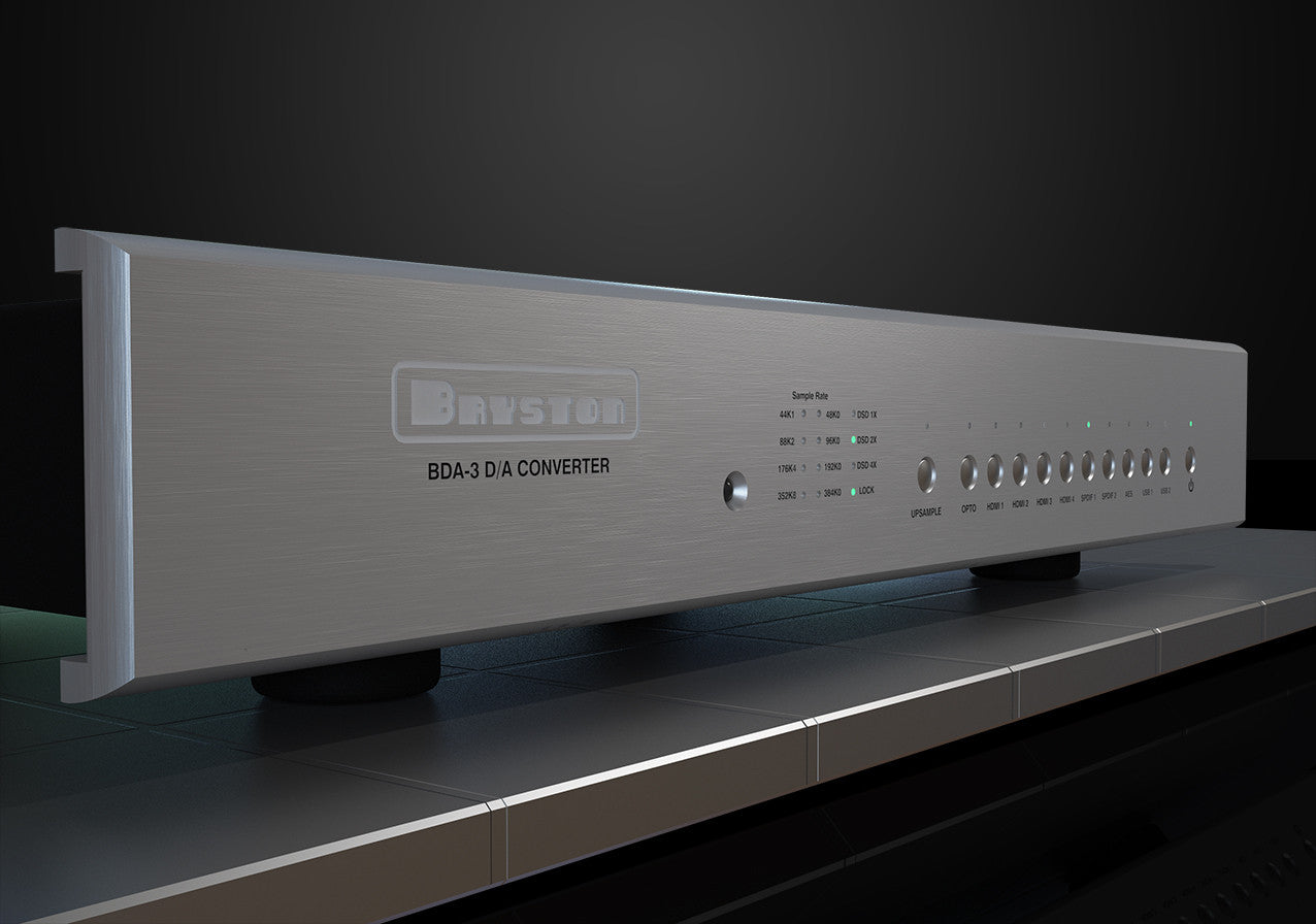 Bryston BDA-3 External DSD DAC - Digital to Analog Converter