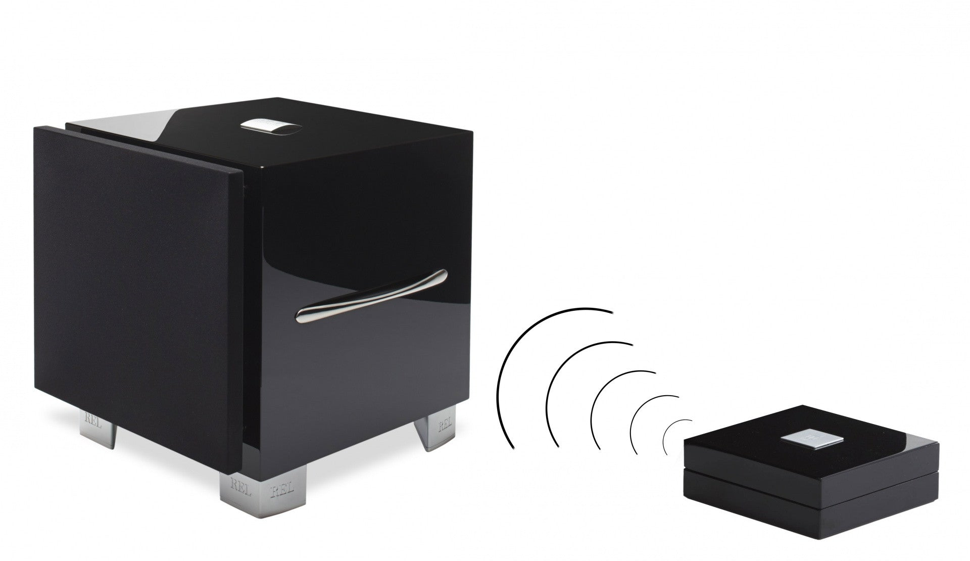 REL LongBow™ Wireless  Subwoofer Transmitter