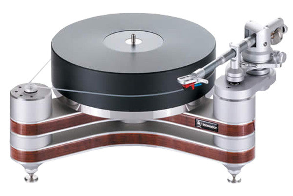 "Clearaudio Innovation Wood Turntable with 9"" Universal Tonearm"