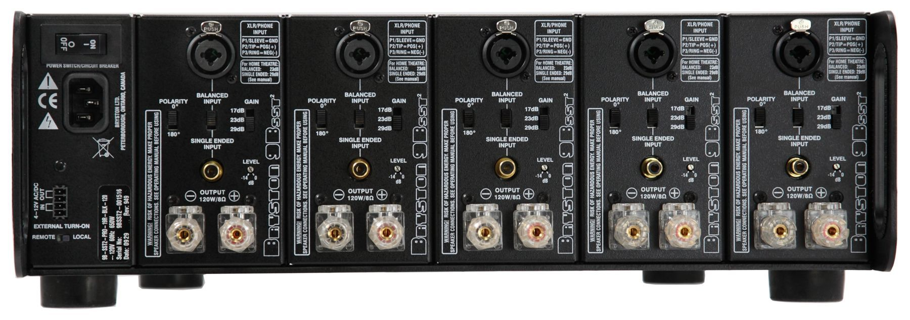 Bryston 9BSST3 Multi-Channel Power Amplifier