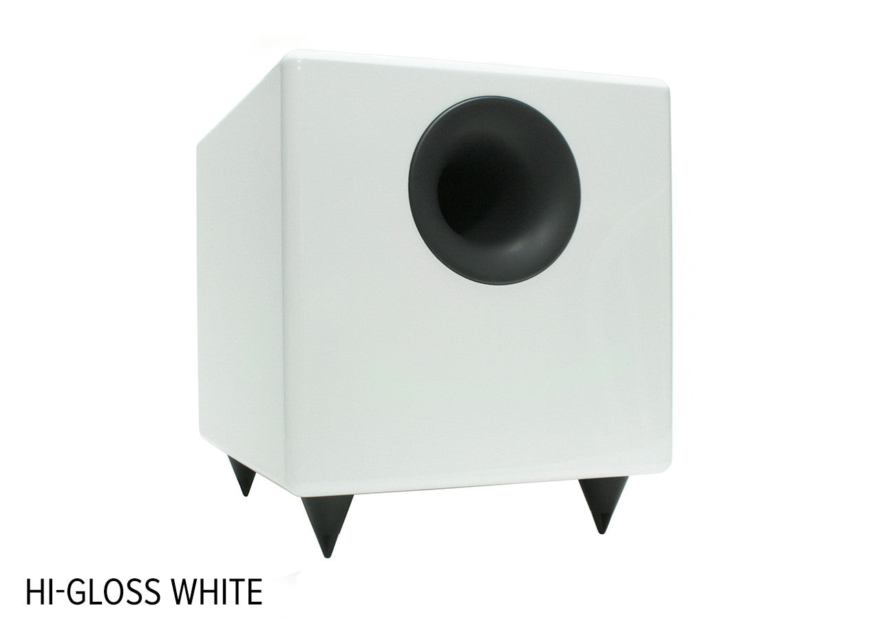 AudioEngine S8 Powered Subwoofer - GLOSS WHITE