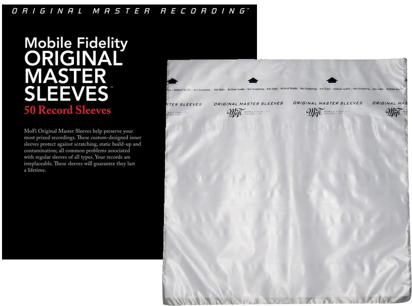 Mobile Fidelity Mofi Original Master Sleeves Protective Inner Sleeves for LP records